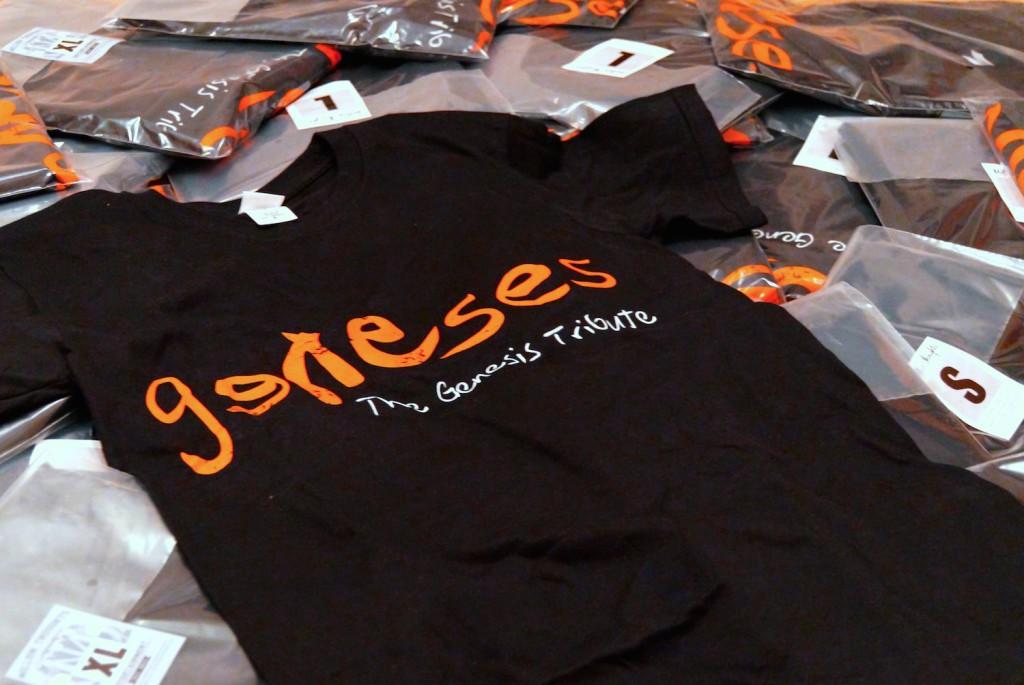 Geneses, Merch, Merchandise, Tshirt, Gildan, Softstyle, Aufdruck, Beflockung, Offset Druck